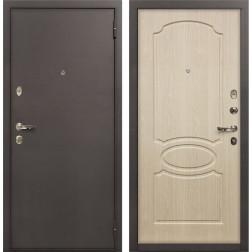 Входная стальная дверь Лекс 1А Дуб беленый (панель №14)