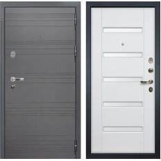 Входная дверь Лекс Легион 3К Софт графит / Ясень белый (панель №34)