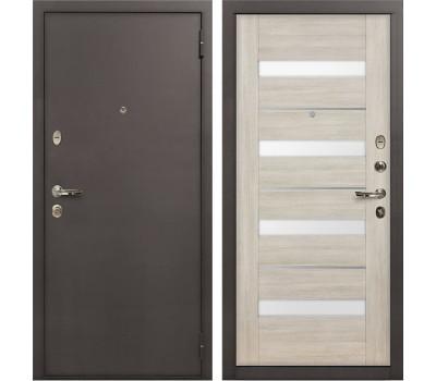 Входная стальная дверь Лекс 1А Сицилио Ясень кремовый (панель №48)