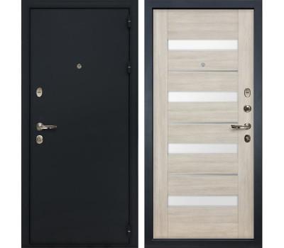 Входная стальная дверь Лекс 2 Рим Сицилио Ясень кремовый (панель №48)