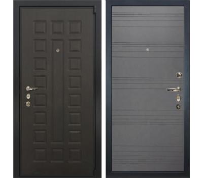 Входная стальная дверь Лекс 4А Неаполь Mottura Графит софт (панель №70)