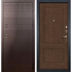 Входная дверь Лекс Легион Энигма-1 Орех (панель №57)