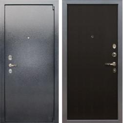 Входная стальная дверь Лекс 3 Барк (Серый букле / Венге) панель №2