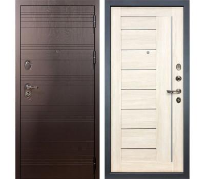 Входная стальная дверь Лекс Легион 3К Верджиния Дуб беленый (панель №38)