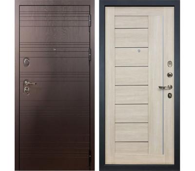 Входная стальная дверь Лекс Легион 3К Верджиния Ясень кремовый (панель №40)