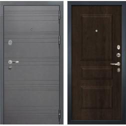 Входная стальная дверь Лекс Легион 3К Софт графит / Алмон 28 (панель №60)