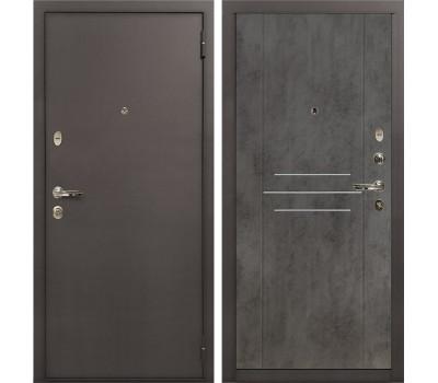 Входная стальная дверь Лекс 1А Бетон тёмный (панель №82)