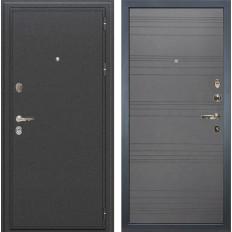 Входная дверь Лекс Колизей Графит софт (панель №70)