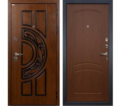 Входная стальная дверь Лекс Спартак Cisa Береза мореная (панель №11)
