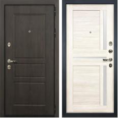 Входная дверь Лекс Сенатор Винорит Баджио Дуб беленый (панель №47)