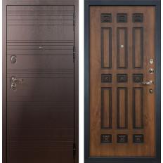 Входная дверь Лекс Легион Голден патина черная (панель №33)