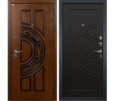 Входная стальная дверь Лекс Спартак Cisa Венге (панель №43)