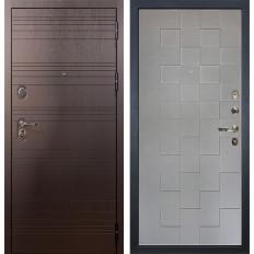 Входная дверь Лекс Легион Графит софт Квадро (панель №72)