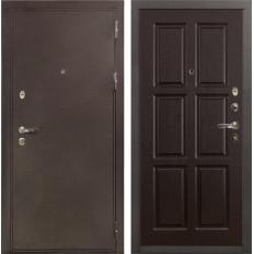 Входная дверь Лекс 5А Цезарь Ясень шоколад (панель №84)
