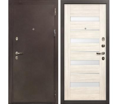 Входная стальная дверь Лекс 5А Цезарь Сицилио Дуб беленый (панель №46)