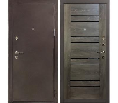 Входная стальная дверь Лекс 5А Цезарь Терра Графит шале (панель №64)