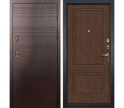 Входная стальная дверь Лекс Легион 3К Энигма-1 Орех (панель №57)