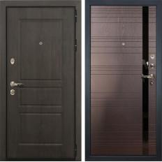 Входная дверь Лекс Сенатор Винорит Ясень шоколад (панель №31)