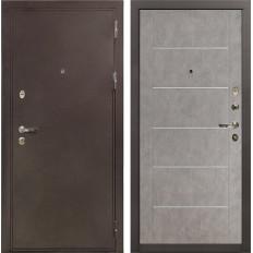 Входная дверь Лекс 5А Цезарь Бетон серый (панель №80)