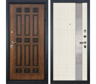 Входная металлическая дверь Лекс Гладиатор 3К Винорит Новита Дуб беленый (панель №52)