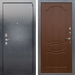 Входная стальная дверь Лекс 3 Барк (Серый букле / Берёза мореная) панель №12