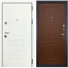 Входная дверь Лекс Легион 3К Шагрень белая / Береза мореная (панель №11)