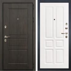 Входная дверь Лекс Сенатор Винорит Софт белый снег (панель №87)