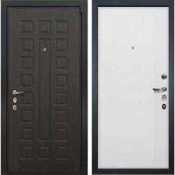 Входная стальная дверь Лекс 4А Неаполь Mottura Ясень белый (панель №62)