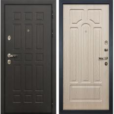 Входная дверь Лекс Сенатор 8 Дуб беленый (панель №25)