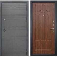 Входная дверь Лекс Сенатор 3К Софт графит / Береза мореная (панель №26)