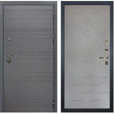 Входная дверь Лекс Сенатор 3К Софт графит / Софт графит Квадро (панель №72)