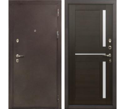 Входная стальная дверь Лекс 5А Цезарь Баджио Венге (панель №50)