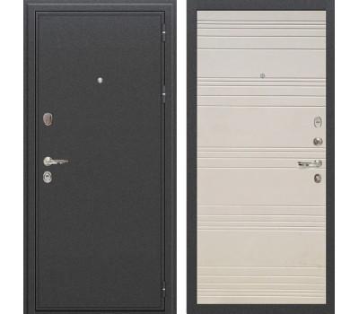 Входная стальная дверь Лекс Колизей Дуб фактурный кремовый (панель №63)