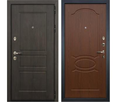 Входная стальная дверь Лекс Сенатор Винорит Береза мореная (панель №12)