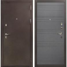 Входная дверь Лекс 5А Цезарь Графит софт (панель №70)