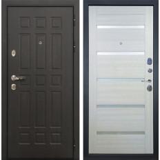 Входная дверь Лекс Сенатор 8 Клеопатра-2 Дуб беленый (панель №58)