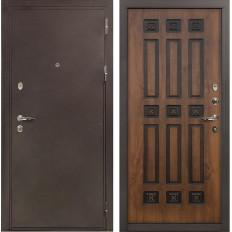 Входная дверь Лекс 5А Цезарь Винорит Голден патина черная (панель №33)