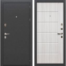 Входная стальная дверь Лекс Колизей Сандал белый (панель №42)