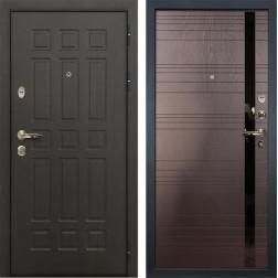 Входная дверь Лекс Сенатор 8 Ясень шоколад (панель №31)