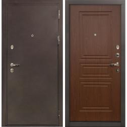 Входная стальная дверь Лекс 5А Цезарь Береза мореная (панель №19)