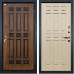 Входная дверь Лекс Гладиатор 3К Винорит Дуб беленый (панель №28)