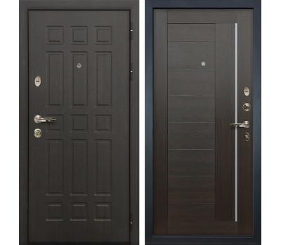 Входная металлическая дверь Лекс Сенатор 8 Верджиния Венге (панель №39)