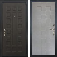 Входная дверь Лекс 4А Неаполь Mottura Графит софт Квадро (панель №72)