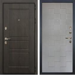 Входная дверь Лекс Сенатор Винорит Графит софт Квадро (панель №72)