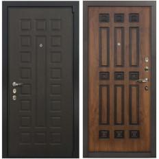Входная дверь Лекс 4А Неаполь Mottura Винорит Голден патина черная (панель №33)