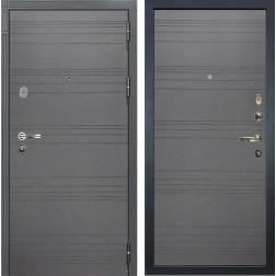 Входная дверь Лекс Легион 3К Софт графит / Софт графит (панель №70)