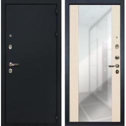 Входная дверь Лекс 2 Рим Стиль с зеркалом Дуб беленый (панель №45)