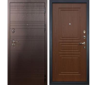 Входная стальная дверь Лекс Легион 3К Береза мореная (панель №19)