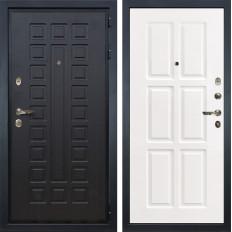 Входная дверь Лекс Гладиатор 3К Софт белый снег (панель №85)