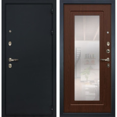 Входная дверь Лекс 2 Рим с Зеркалом Береза мореная (панель №30)